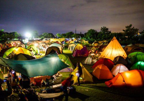 夢の「頂」キャンプ