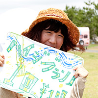 谷田夏実 (頂スタッフ/愛称:なっちゃん)